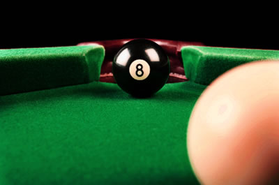 Get out from behind the eight-ball